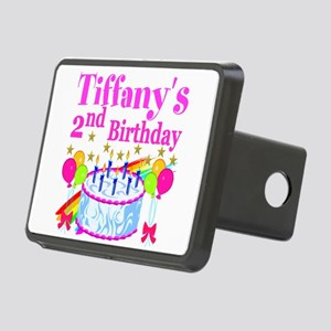 2ND BIRTHDAY Rectangular Hitch Cover