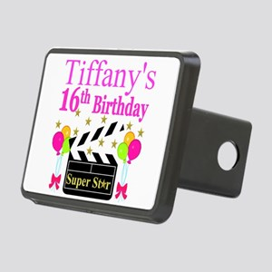 PERSONALIZED 16TH Rectangular Hitch Cover