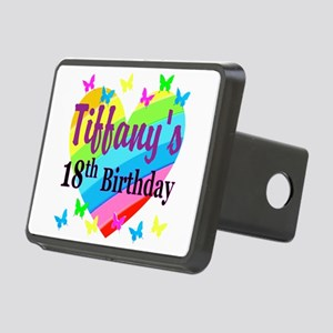 PERSONALIZED 18TH Rectangular Hitch Cover