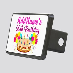 FABULOUS 30TH Rectangular Hitch Cover