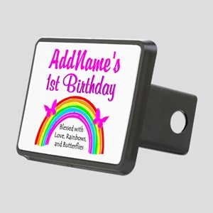 BLESSED 1 YR OLD Rectangular Hitch Cover