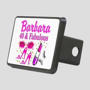 40TH PARTY GIRL Rectangular Hitch Cover