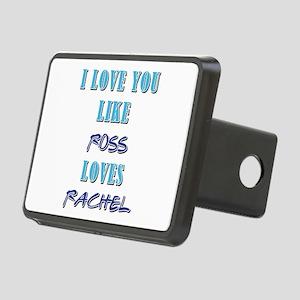 ROSS loves RACHEL Rectangular Hitch Cover
