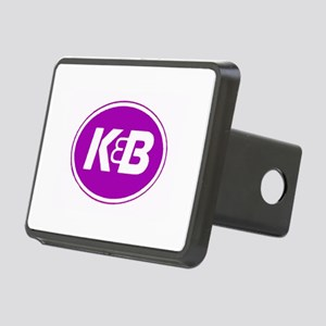 K&B Retro Rectangular Hitch Cover