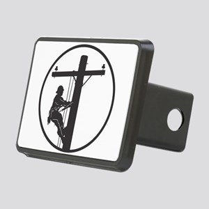 Lineman Rectangular Hitch Cover