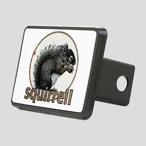Squirrel! Rectangular Hitch Cover