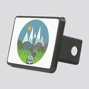 Camping Rectangular Hitch Cover