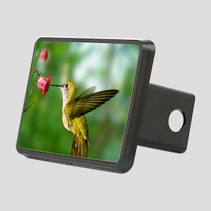Hummingbird in flight Rectangular Hitch Cover