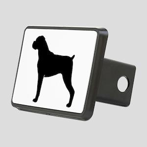 Boxer Dog Rectangular Hitch Cover