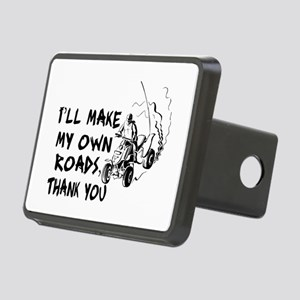 Make My Own Roads Rectangular Hitch Cover