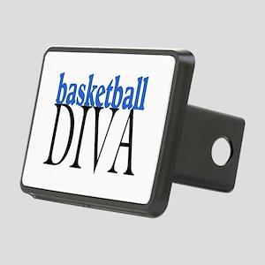 Basketball Diva Rectangular Hitch Cover