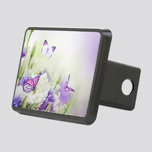 Flowers and Butterflies Hitch Cover