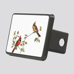 Cardinal Couple Hitch Cover