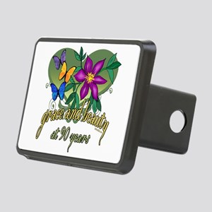 GraceButterfly90 Rectangular Hitch Cover