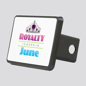 Royalty is Born in June Rectangular Hitch Cover