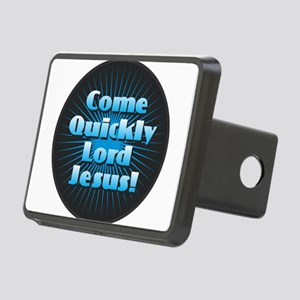 Come Quickly Lode Jesus!Co Rectangular Hitch Cover