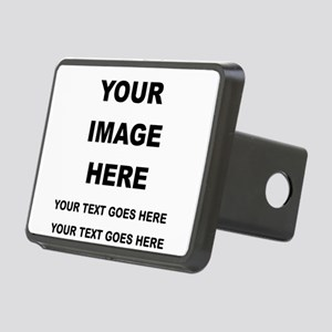 Your Photo and Text Here T Shirt Hitch Cover