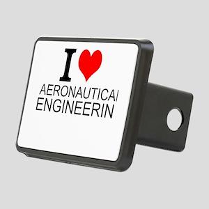 I Love Aeronautical Engineering Hitch Cover