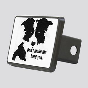 Border Collie Art Hitch Cover