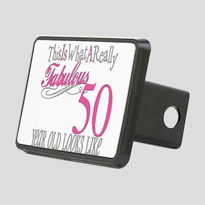 Fabulous 50yearold Rectangular Hitch Cover