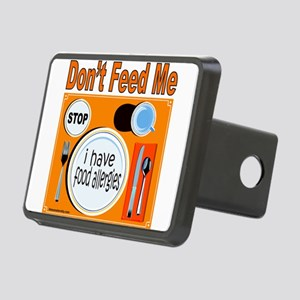 DON'T FEED ME Rectangular Hitch Cover