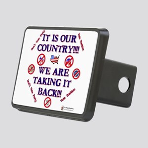 its our country Rectangular Hitch Cover