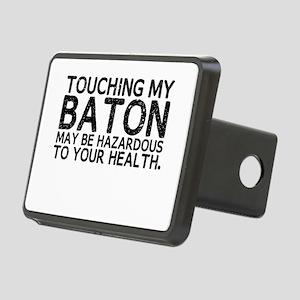 Baton Hazard Rectangular Hitch Cover