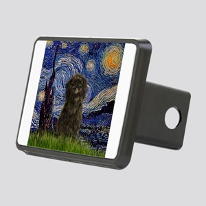 TILE-Starry-Affen3 Rectangular Hitch Cover