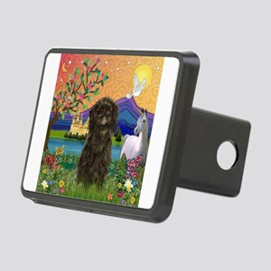 TILE-Fantasy-Affen3 Rectangular Hitch Cover