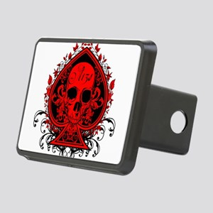 Ace Skull Rectangular Hitch Cover