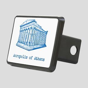 Acropolis of Athens Rectangular Hitch Cover