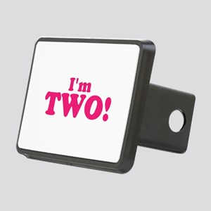 Im Two Second Birthday Rectangular Hitch Cover