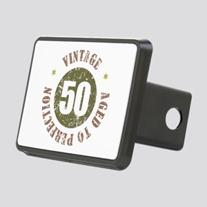 50th Vintage birthday Rectangular Hitch Cover