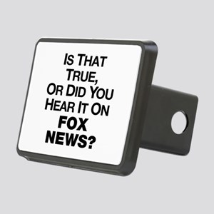 True or Fox News? Rectangular Hitch Cover