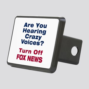 Turn Off Fox News Hitch Cover