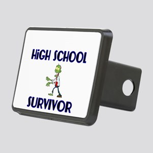 High School Survivor-Zombie-blue Hitch Cover