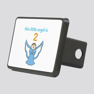 little angel custom age Rectangular Hitch Cover