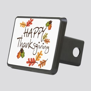 Happy Thanksgiving Rectangular Hitch Cover