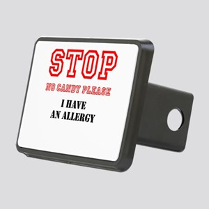 Allergy Warning Hitch Cover