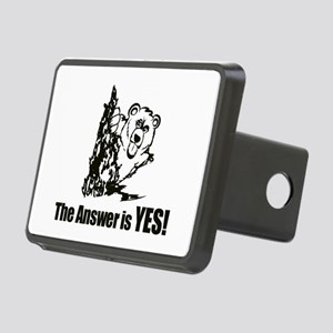 The Answer is Yes Hitch Cover