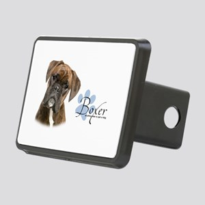 Boxer Puppy Rectangular Hitch Cover