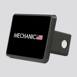 Mechanic: American Flag Rectangular Hitch Cover