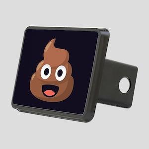 Poop Emoji Rectangular Hitch Cover