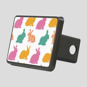 bunny Rectangular Hitch Cover
