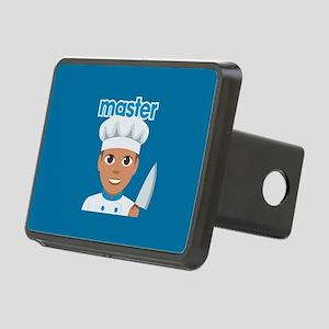 Emoji Master Chef Rectangular Hitch Cover