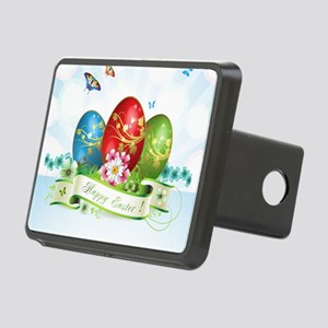 Happy Easter Rectangular Hitch Cover