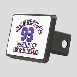 Celebrating 93 Years Rectangular Hitch Cover