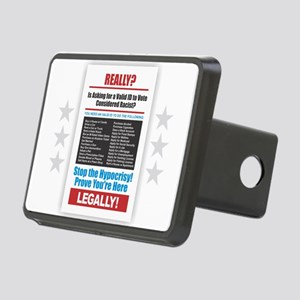 Voter ID Rectangular Hitch Cover