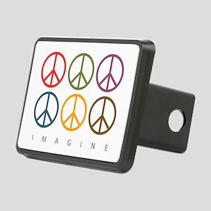 Imagine - Six Signs of Peace Rectangular Hitch Cov