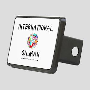 International Oilman Rectangular Hitch CoverOil,